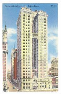 Exterior, Magnolia Building,Dallas,Texas,40-60s
