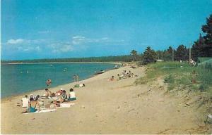 Beach Scene at Wilderness State Park Mackinaw City Michigan
