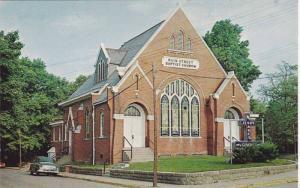 Main Street Baptist Church , BOONVILLE , Indiana , 40-60s