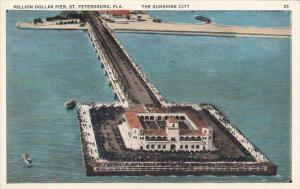 Florida St Petersburg Million Dollar Recreation Pier 1931