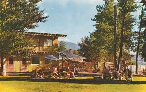 Sunbathing, Heglers Coldstream Court Resort, Kalamalka Lake, Vernon, British ...