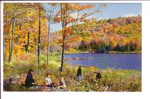 Fall Picnic, Gatineau Hills,Ottawa Hull Quebec,