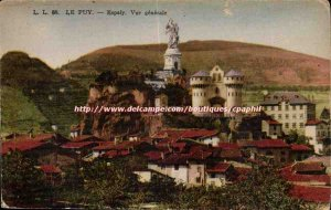 Le Puy Old Postcard General view