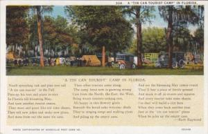 A Tin Can Tourist Camp In Florida Curteich
