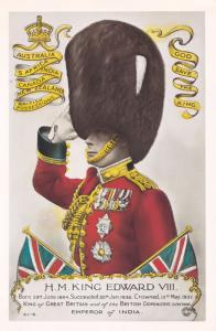 King Edward VIII Royal Salute New Zealand Tampex 1986 Exhibition Postcard
