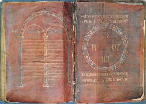 BR22182 La Bilble de Theodulfe Le Puy Tresor de la cathedrale