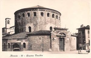 Italy Old Vintage Antique Post Card Brescia Duomo Vecchio Unused