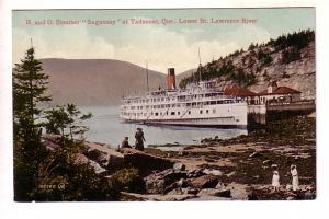 R and O Steamer Saguenay, Tadoussac, Quebec