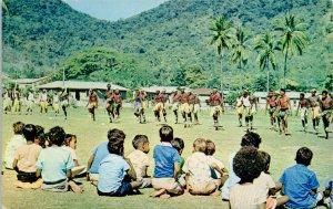 Queensland Australia Palm Island Aborigines Tribal Dance Indigenous Postcard G84