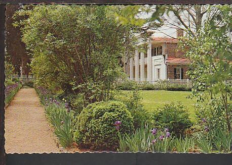 Garden The Hermitage Nashville TN Postcard BIN
