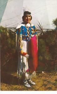 Pawnee Indian Maiden