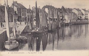 LE POULIGUEN, Loire Atlantique, France, 1900-1910's; Vue Du Port