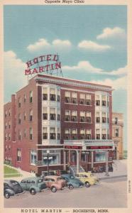 ROCHESTER , Minnesota , 30-40s ; Hotel Martin