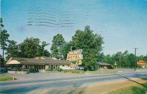 Pine Bluff Motel and Plantation Embers Restaurant AR, Arkansas - pm 1962
