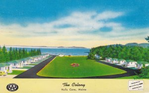 HULLS COVE , Maine , 1953s ; The Colony Motel