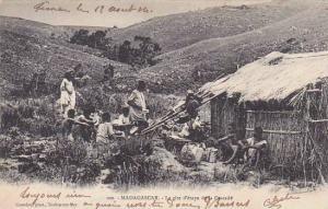 Madagascar Le gite d'etape de la Cascade 1904