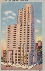 Ohio Toledo The Ohio Bank Building 1946