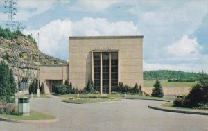 Hydro-Power Station, SHIPSHAW, Quebec, Canada, 40-60's