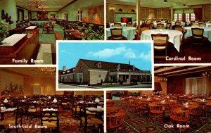Michigan Oak Park Greenfield's Suburban Restaurant 1969