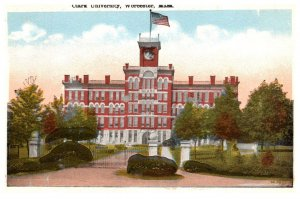 Massachusetts Worcester ,Clark University