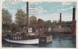 ERIE, Pennsylvania; Water Works, PU-1919