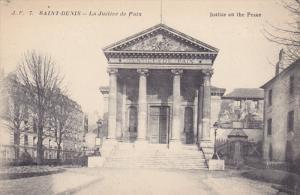 SAINT-DENIS, Paris, France; La Justice de Paix, Justice on the Peace, 00-10s