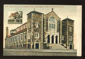 Providence, Rhode Island/RI Postcard, Ezreja Le N.S. Rozario