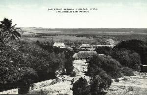 curacao, N.W.I., San Pedro Springs (1940s)