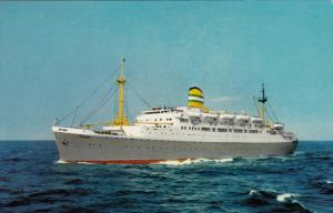S.S. Ryndam, HOLLAND-AMERICAN LINES, 40-60's
