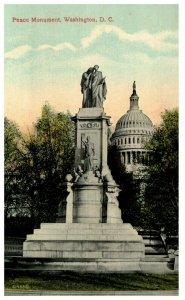 1910's Peace Monument Washington DC PC2028