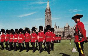 Parliament Hill, Changing of the Guard Ceremony, OTTAWA, Ontario, Canada, 40-...