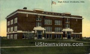 High School Chickasha OK 1912