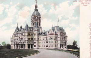 HARTFORD, Connecticut, 1900-1910s; State Capitol