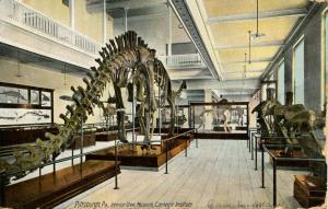 PA - Pittsburgh. Carnegie Institute Museum, Interior, circa 1909