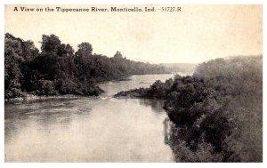 Indiana  Monticello  Tippecanoe River