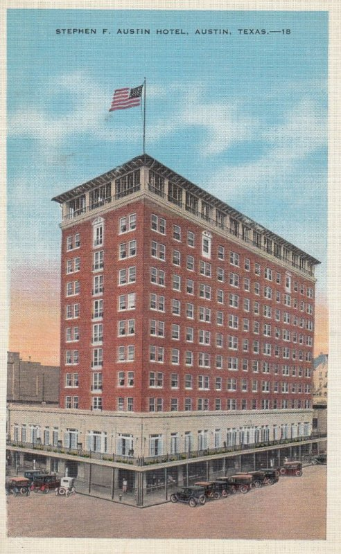 AUSTIN , Texas , 1930-40s ; Stephen F. Austin Hotel