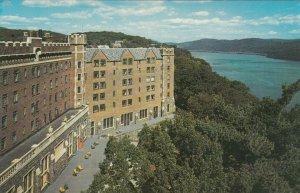 WEST POINT, New York, 1940-60s; U. S. Hotel Thayer, Hudson River