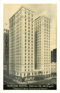 Barlum Hotel Detroit Michigan