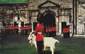Changing of the Guard at La Citadelle, Quebec, Canada, 40-60s
