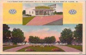 GA Claxton A & A Tourist Court & Restaurant