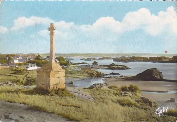Vue Sur Les lles Du Kerpont, Île-de-Bréhat (Côtes-d´Armor), France, PU-1967