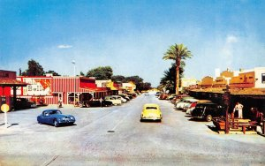 SCOTTSDALE, AZ Street Scene Arizona Old West Town ca 1950s Vintage Postcard