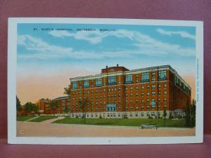 Old Postcard MN Rochester St. Mary's Hospital