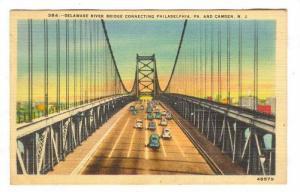 Delaware River Bridge, Camden New Jersey,30-40s