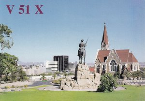 Namibia QSL Postcard Amateur Radio Card