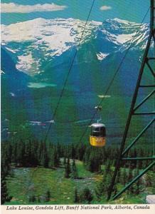 Canada Lake Louise Gondola Lift Banff National Park