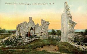NY - Fort Ticonderoga. Ruins
