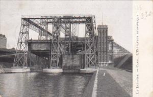 La Leuviere Canal L'Elevateur Hydraulique Hydraulic Elevator 1909