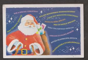 Christmas Greetings In Many Languages - Unused c1970