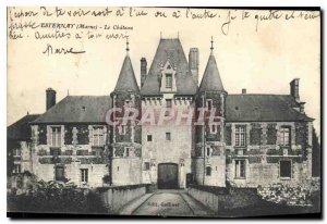 Postcard Old Esternay Marne Le Chateau
